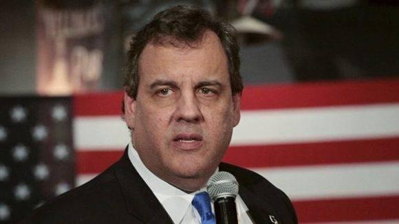 Christie está envuelto en un escándalo en su estado de Nueva Jersey.