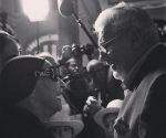 Alicia Alonso y Plácido Domingo se encontraron en el Gran Teatro de La Habana, 24 de noviembre de 2016. Foto: Alejandro Ernesto Pérez Estrada (Tomada de su cuenta de Facebook)