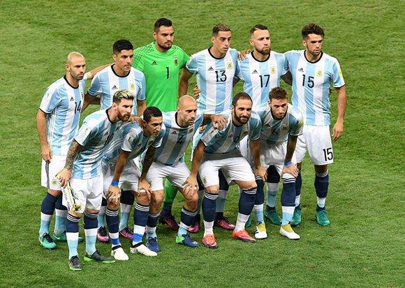 El once de los perdedores. Foto: Evaristo Sa/ AFP.