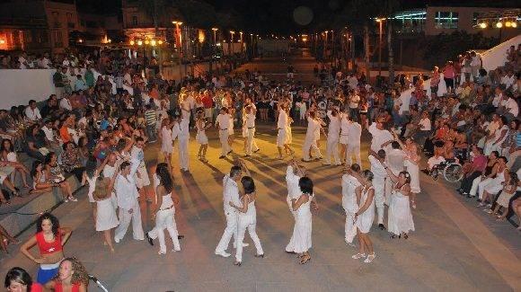 Bailando en Cuba