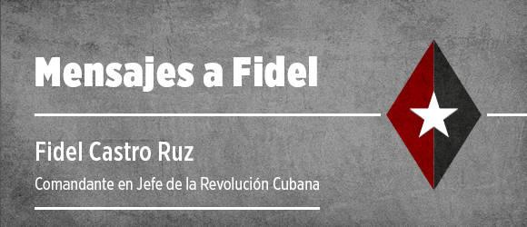 Comparte tu homenaje a Fidel Castro