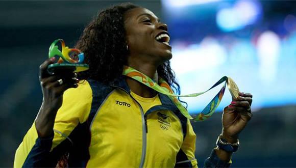Ibargüen ha sido la campeona de salto triple desde 2012, perdiendo una sola prueba desde las Olimpiadas de Londres. Foto: Getty Images.