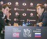 Carlsen y Kariakin