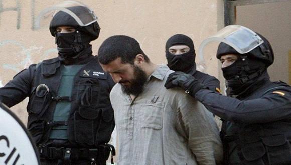 Uno de los detenidos en las redadas. Foto tomada de entornointeligente.com
