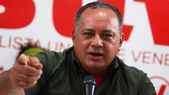 Diosdado Cabello. Foto tomada de NotiTotal.
