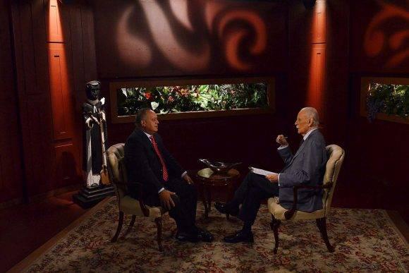 Diputado Diosdado Cabello, en el programa de TV de José Vicente Rangel