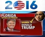 Donald Trump Secures Win over Hilary Clinton in Florida mainimage
