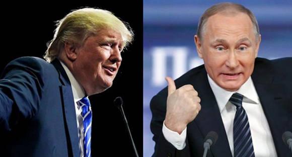 Donald Trump y Vladimir Putin tuvieron una conversación telefónica.