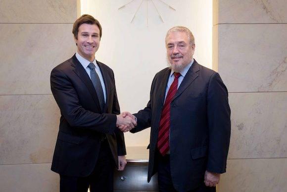 El Dr. Fidel Castro Díaz-Balart fue recibido por el Sr. Robert Grey, Subsecretario de la Cancillería polaca.