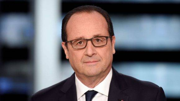 El mandatario francés. Foto tomada de L'Express.