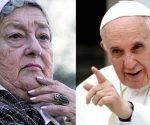 Hebe de Bonafini envia carta al papa Francisco. Imagen tomada de PL.