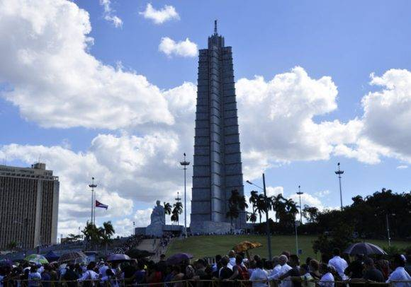 Honras fúnebres del pueblo cubano al Comandante en Jefe, este 28 de noviembre de 2016. Foto: Roberto Garaycoa Martínez/ Cubadebate