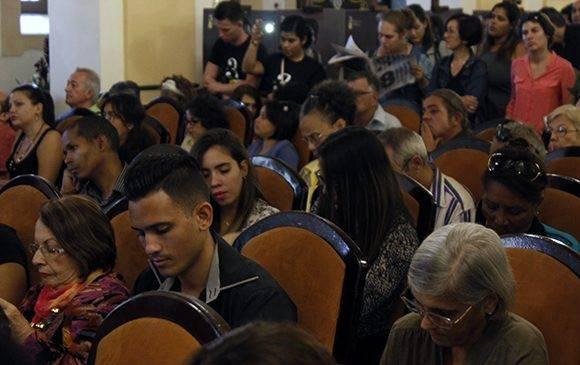 La conferencia de prensa tuvo lugar en el Hotel Nacional. Foto: José Raúl Concepción/ Cubadebate.