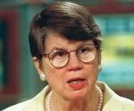 U.S. marshals have taken custody of evidence just discovered by the FBI showing its agents got permission to use flammable tear gas canisters during the 1993 assault on the Branch Davidian compound near Waco, Texas, Justice Department officials said Thursday, September 2, 1999. They described U.S. Attorney General Janet Reno as ''''furious'''' with the new discovery of the tape recording, the second time in recent days the FBI has found it had evidence confirming the firing of the combustible canisters after six years of denying that incendiary devices had been used. (photo by Richard Ellis)