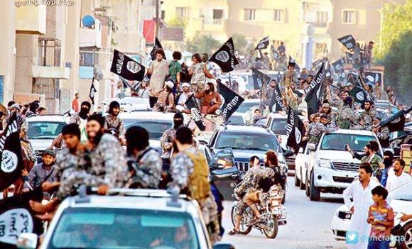 La ciudad de Raqqa controlada por el Estado Islámico. Foto tomada de La Tercera.