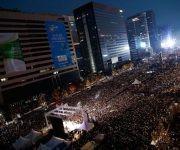 Las personas en las calles acusan a la presidenta de no estar apta para tomar decisiones gubernamentales. Foto: Getty Images.
