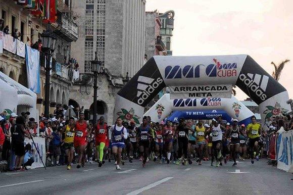 Arrancada de la trigésima edición de Marabana. Foto: Omara García/ ACN.