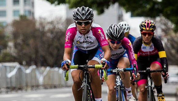 Marlies Mejías con el Shimano Ladies Power