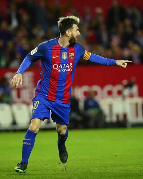 Messi fue determinante en el partido. Foto tomada de Twitter.