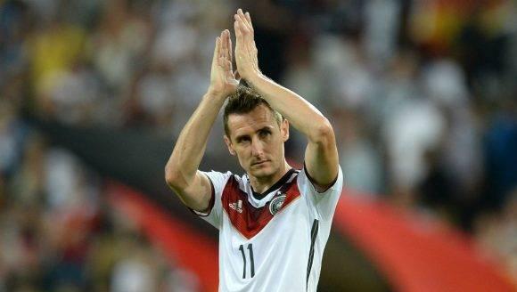 Miroslav Klose. Foto tomada de Día a Día.
