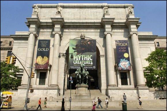 Museo Americano de Historia Natural en Nueva York. Foto tomada de Historias de Nueva York.