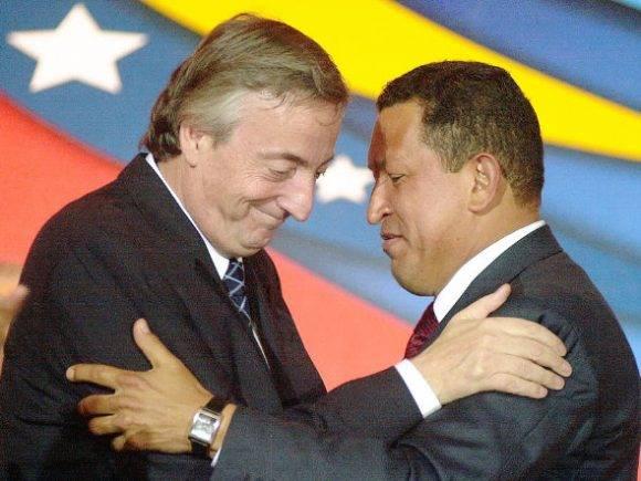 Néstor Kirchner y Hugo Chávez fueron protagonistas de aquel histórico golpe al ALCA.