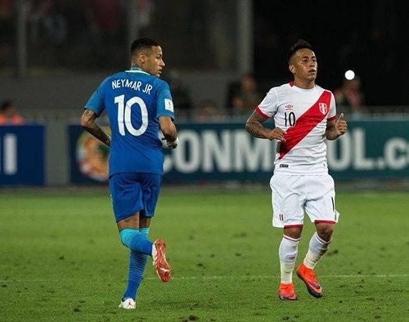 Brasil está muy cerca del Mundial 2018, pues Uruguay perdió y se distancia en el liderato. Foto tomada de Marca.