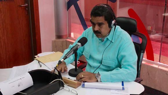 Nicolás Maduro en La Hora de la Salsa
