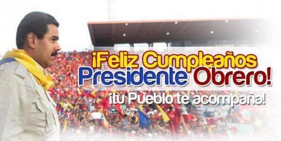Nicolas Maduro Cumpleaños 02