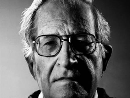 Noam Chomsky. Foto tomada de Recuerdos de Pandora.