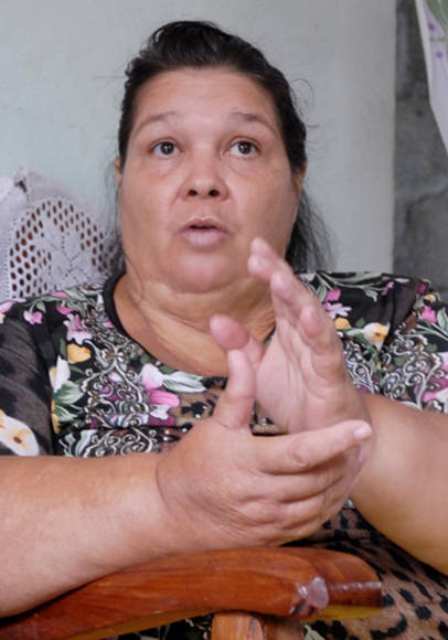 Nuestro rol es humanitario María Dolores representante del Consejo de Iglesias de Cuba en Baracoa. Maisí. Fotos: Leonel Escalona Furones.