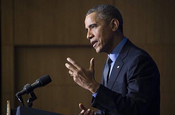 Obama. Foto: AFP.