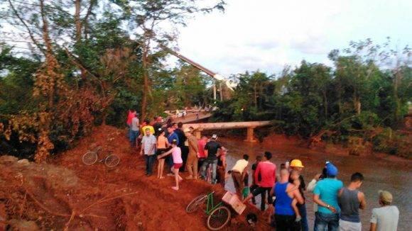 Puente de moa colapsado 2