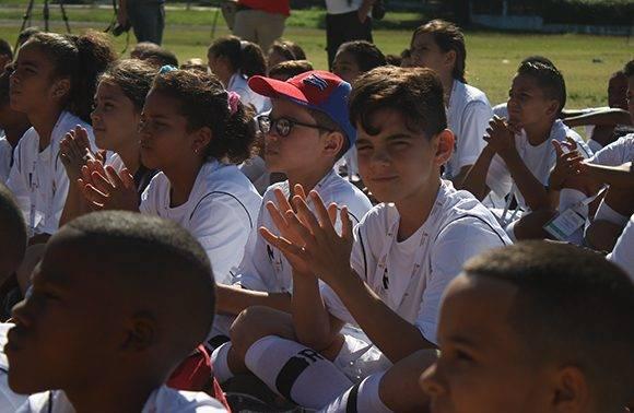 Los niños participantes provienen de 10 escuelas de ocho municipios de La Habana. Foto: José Raúl Concepción/ Cubadebate.