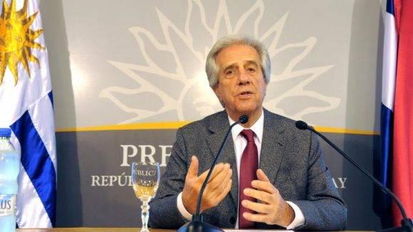 Tabaré Vázquez. Foto tomada de Telenoche Online.