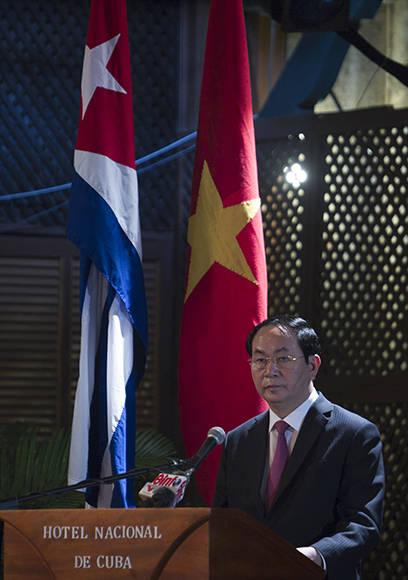 Tran Dai Quang, presidente de Vietnam. Foto: Ladyrene Pérez/ Cubadebate. Foto: Ladyrene Pérez/ Cubadebate.