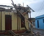 Vivienda afectada en Baracoa después de Matthew