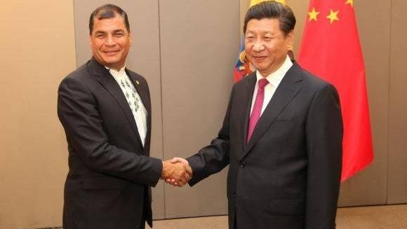 Xi ji ping y Correa