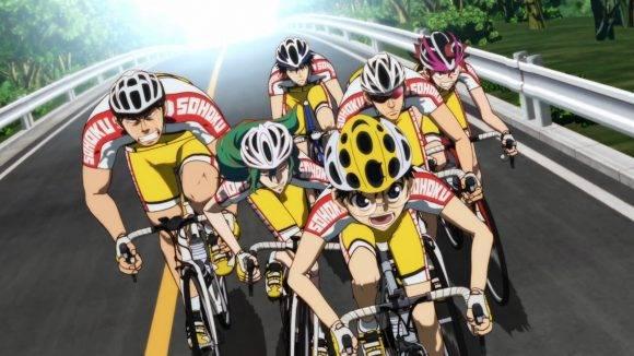Yowamushi Pedal 01