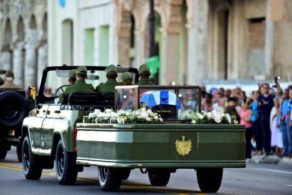 Caravana Tributo a Fidel