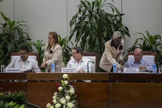 Rubrican en la capital cubana renovación de acuerdo de paz para Colombia (+ Fotos)