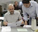 Conteo de votos en elecciones EE.UU. Foto: AP.