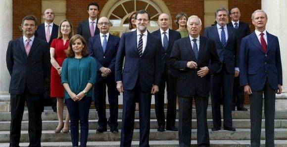 El Ejecutivo de Rajoy. Foto: Archivo.