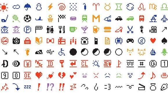 El conjunto de 176 caracteres emoji adquiridos por el MoMA.
