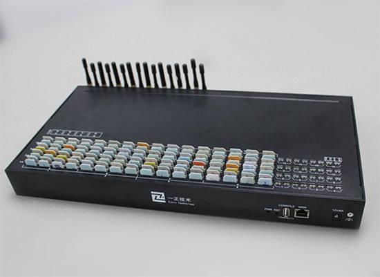 Un equipo Simbox, como los que muestra la imagen, sirve para montar una pequeña central telefónica, que de ser ilegal, provoca pérdidas a los operadores de telecomunicaciones.