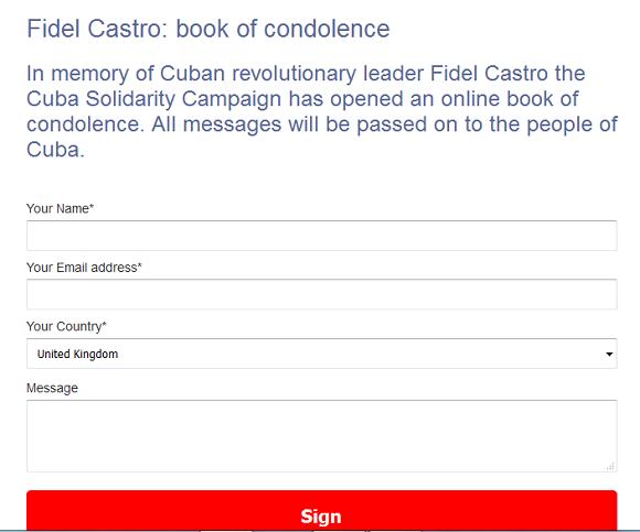 fidel-book-condolencias