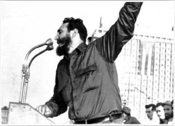 El Fidel que todos conocimos. Foto: Archivo.