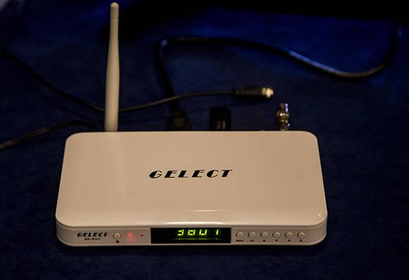 GELECT HD-WA17, nuevo dispositivo receptor con sistema operativo Android. Foto: Ismael Francisco/ Cubadebate.