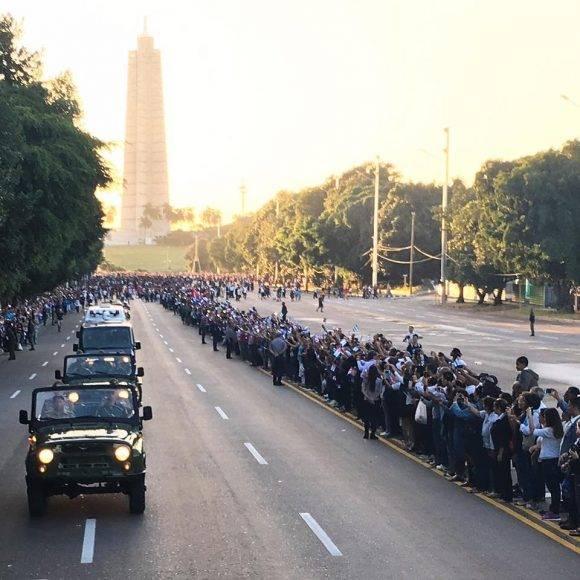 Desde el MINFAR. Foto: Ismael Francisco/ Cubadebate