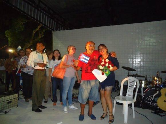 homenaje a doctora cubana